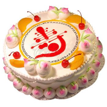 祝寿蛋糕/仙桃祝寿