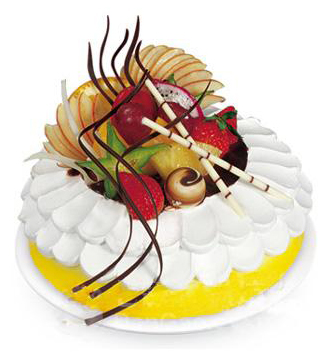 水果蛋糕/沁芳园