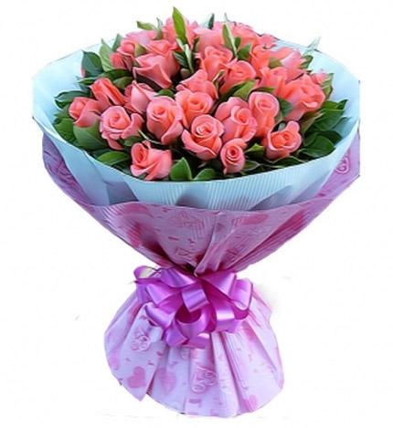 39朵粉玫瑰/�墼谏钋�
