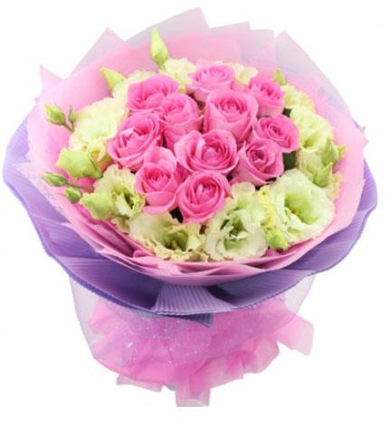 11朵粉玫瑰/青涩爱情