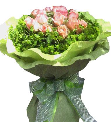 11朵粉玫瑰/爱的天使