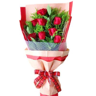 8支红玫瑰/美丽心情