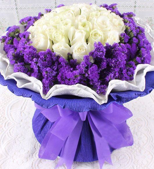 33朵白玫瑰/纯纯爱你