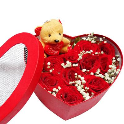 11朵红玫瑰/心有千千结