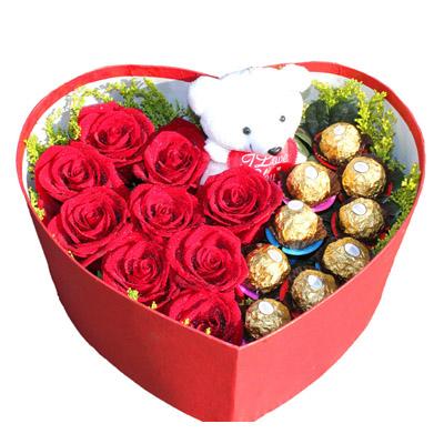 9朵红玫瑰/真爱似火