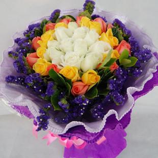 11枝白玫瑰/爱你三生三世