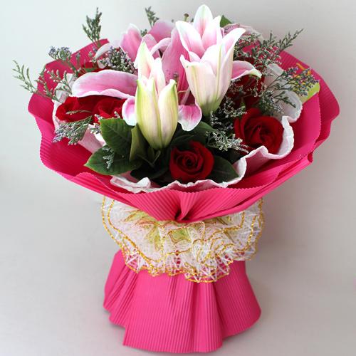 9枝红玫瑰/爱你的心