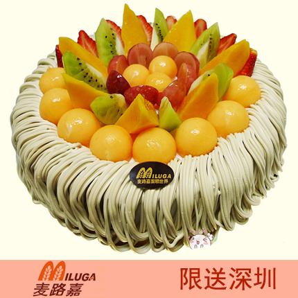 麦路嘉蛋糕/栗子蛋糕(8寸)