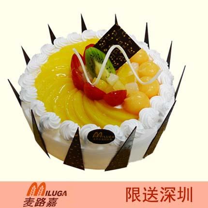麦路嘉蛋糕/午夜香吻(8寸)