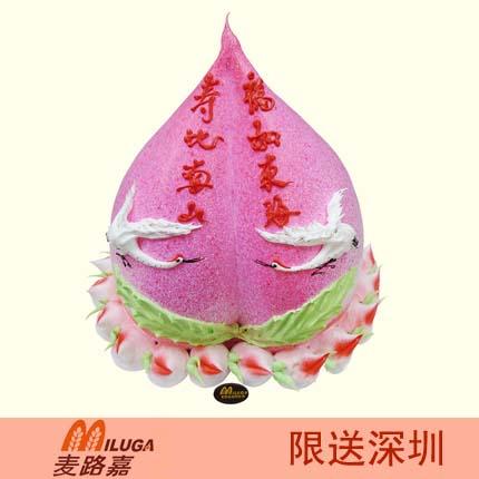 ��路嘉蛋糕/�郾饶仙�(12寸)