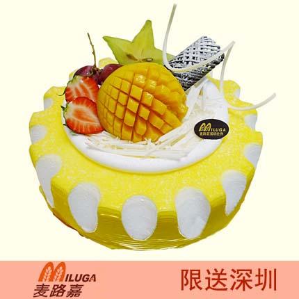 麦路嘉蛋糕/魅力四射(8寸)
