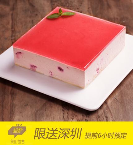 美时每客蛋糕/树莓慕斯
