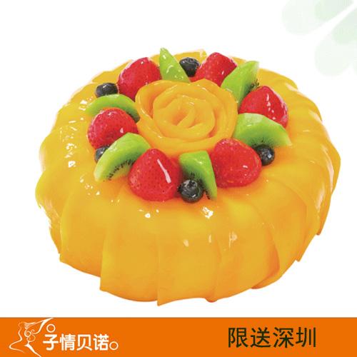 深圳子情��Z蛋糕/芒果流心(6寸)