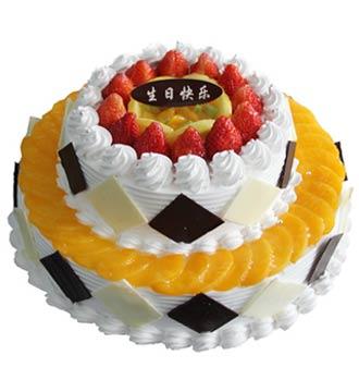 双层蛋糕/稳稳地幸福(8寸+12寸)