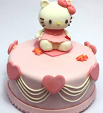 翻糖蛋糕/kitty(限送北京,杭州,西安,蚌埠)