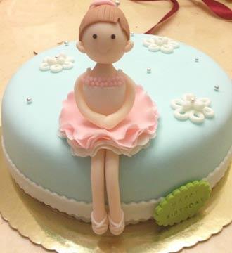 翻糖蛋糕/舞蹈女孩(限送北京,杭州,西安,蚌埠)