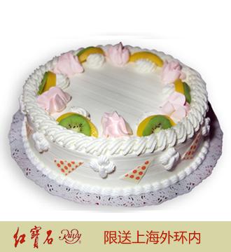 �t��石�r奶蛋糕05(8寸)