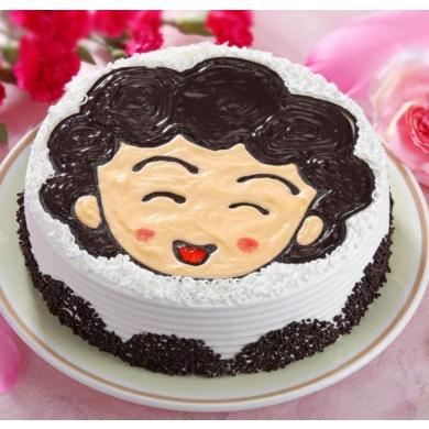 鲜奶蛋糕/妈妈,节日快乐(8寸)
