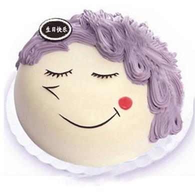 鲜奶蛋糕/母亲节快乐(8寸)