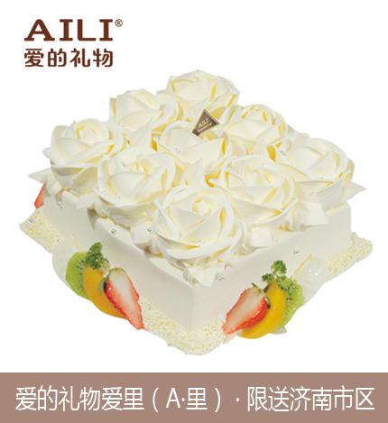 AILI爱的礼物、爱里、A里蛋糕/纯真玫瑰(8寸)