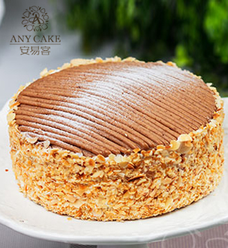 安易客蛋糕/君度栗蓉