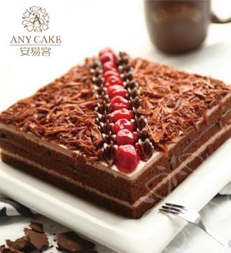 安易客蛋糕/黑巧克力火焰森林