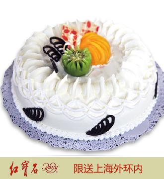 红宝石鲜奶蛋糕22(8寸)