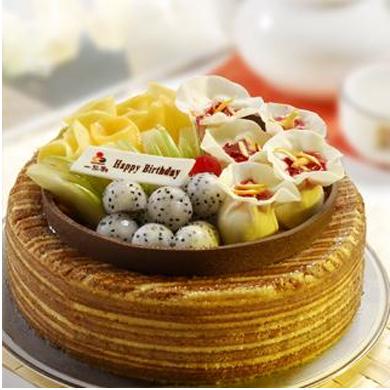 一品轩蛋糕/大宝口福(8寸)