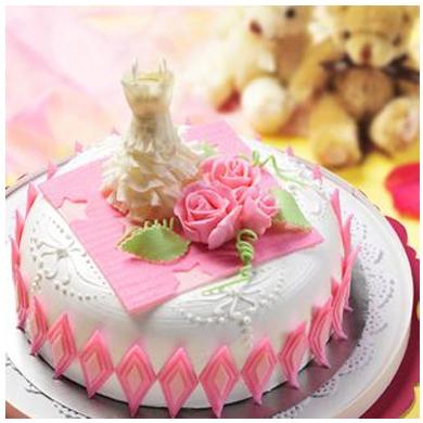 一品轩蛋糕/婚庆蛋糕(8寸)(提前3天预订)