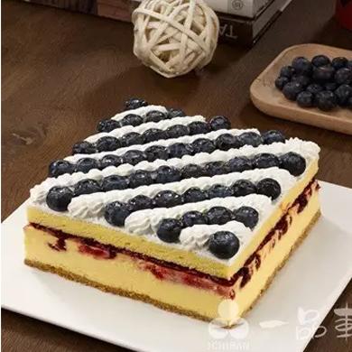 一品轩蛋糕/蓝莓乳酪蛋糕(6寸)