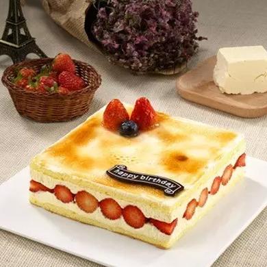 一品�蛋糕/草莓芝心 (6寸)