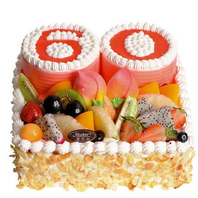 广州雪贝尔蛋糕/寿比南山 (提前24小时下单)