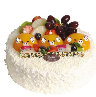 广州雪贝尔蛋糕/金猪宝宝 (提前24小时下单)
