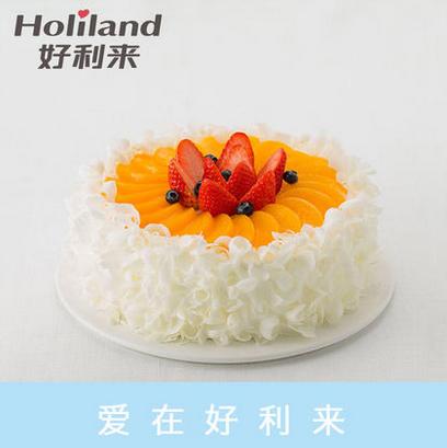好利来蛋糕/蜜桃轻舞(限送北京五环内)