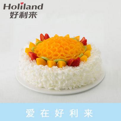 好利来蛋糕/欢聚(10寸)(限送北京五环内)