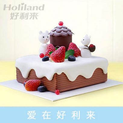 好利来蛋糕/小熊乐园(限送北京五环内)