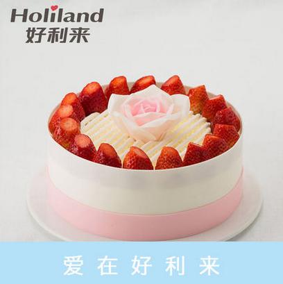 好利来蛋糕/玫瑰曼舞(8寸)(限送北京五环内)
