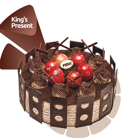 米旗蛋糕/国王的礼物