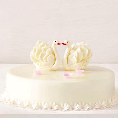 黑天鹅蛋糕美丽人生玫瑰牛奶巧克力(8寸)