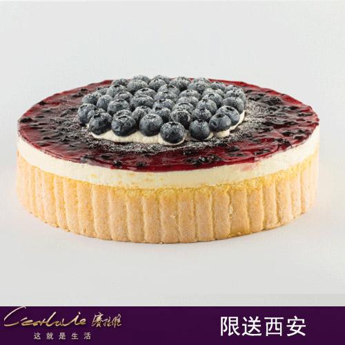 西安�拉�S蛋糕/�{莓之夜(6寸)