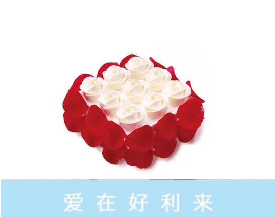 好利来蛋糕/玫瑰花园(限送北京五环内)