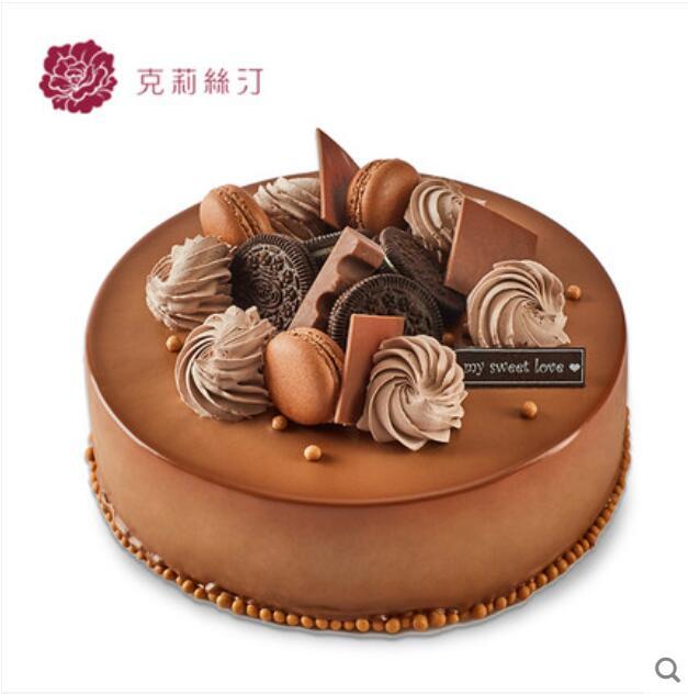 克莉斯汀蛋糕/椰香心语巧克力(8寸)