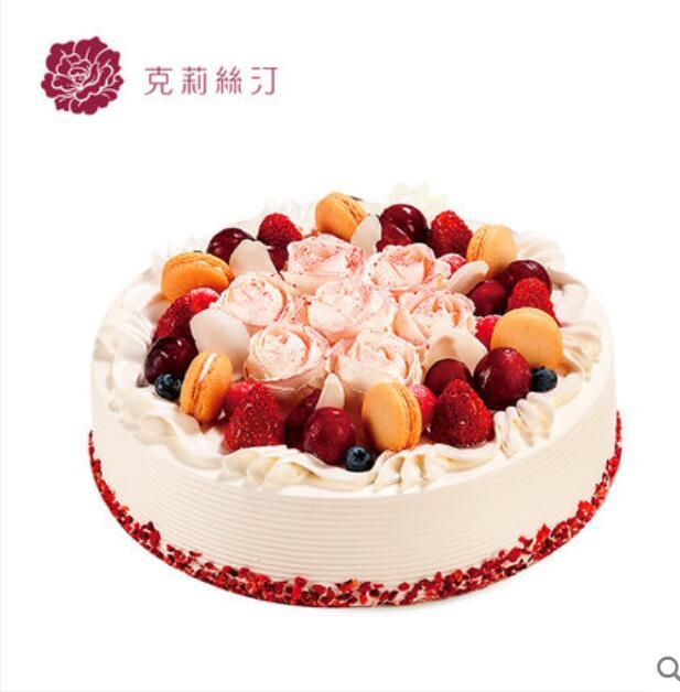 克莉斯汀蛋糕/玫瑰圆舞(10寸)