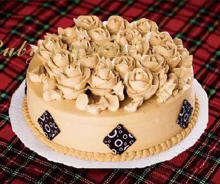 �t��石咖啡�r奶蛋糕(8寸)