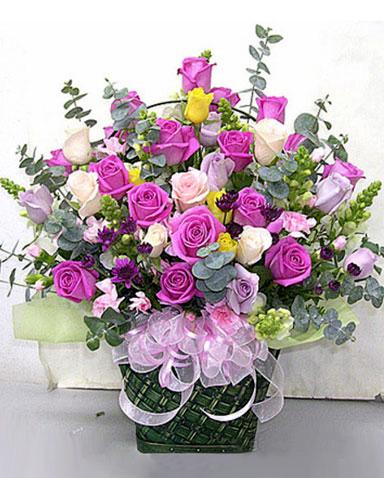 手提花篮/梦想的玫瑰