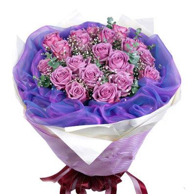 18朵紫玫瑰/玫瑰情话