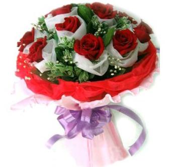 11朵红玫瑰/真心无悔