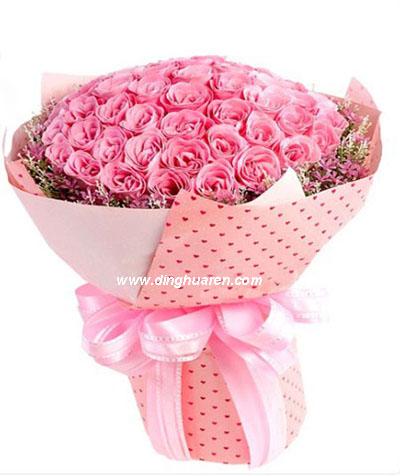 99朵粉玫瑰/爱你一万年
