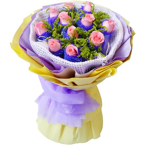 11朵粉玫瑰/至亲至爱