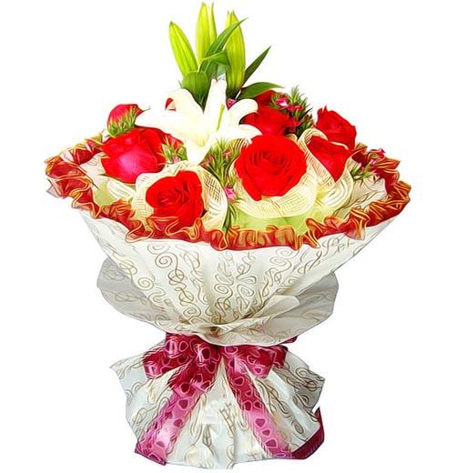 11朵红玫瑰/一心一意的爱